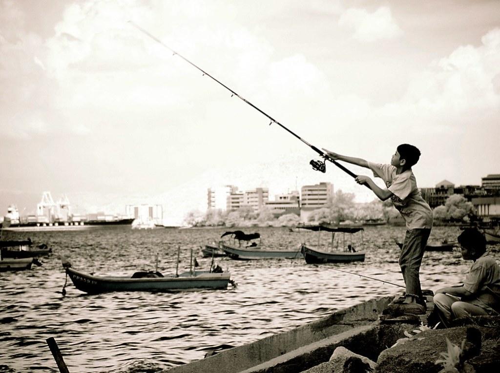 fishing off gurney drive