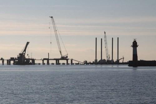 Work on the new Sochi cruise ship terminal underway