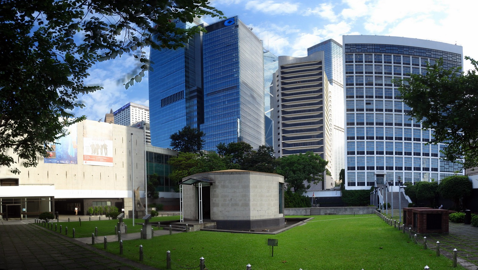 Hong Kong City Hall Memorial Garden 大會堂紀念龕