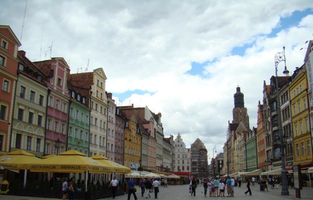 Breslavia Plaza del Mercado Polonia 10