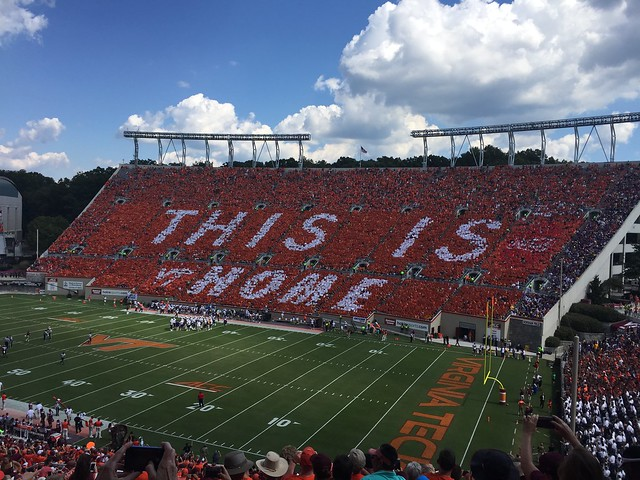Homecoming weekend Blacksburg 2016