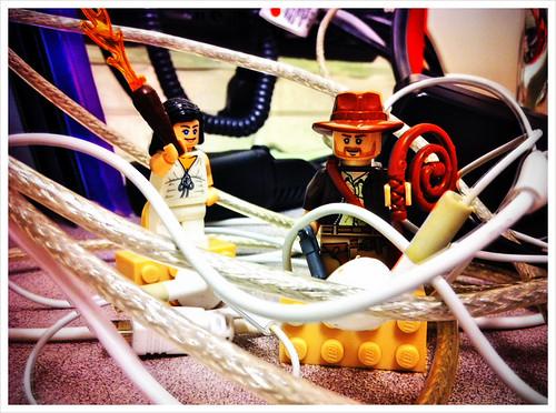 Indiana Jones and the Cables of Dooooom!
