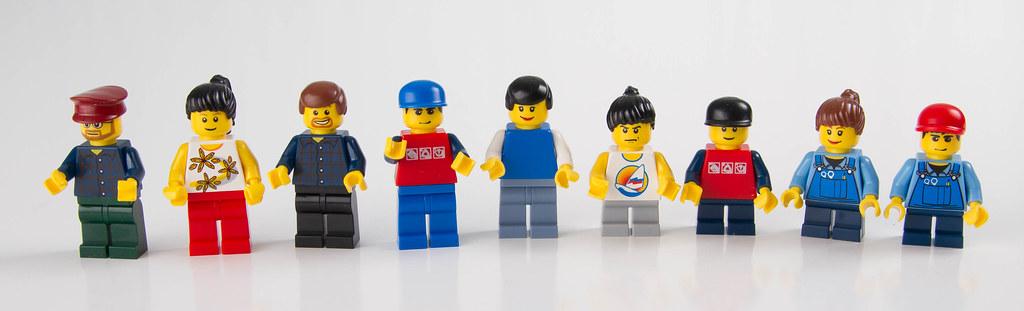 The Minifigs, legos