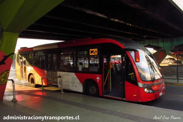 Transantiago C20 | Redbus | Neobus Mega BRT - Volvo / CJRK48