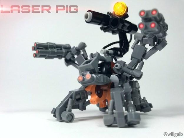 Laser Pig