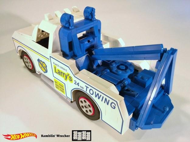 Ramblin' Wrecker Lego MOC 5 of 11