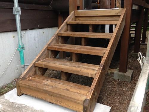 Rebuilding Porch Steps