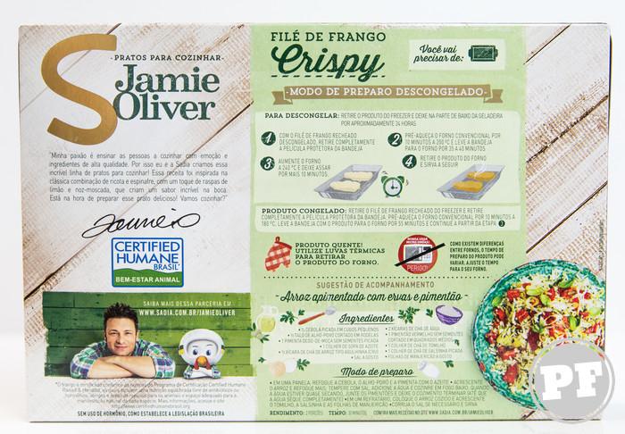 Jamie Oliver: Frango Crispy da Sadia por PratoFundo.com