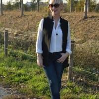 Beauty 'n Fashion: Sleeveless blazer