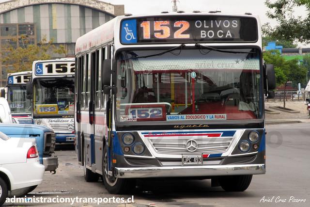 Buenos Aires 152   Tandilense   Ugarte - Mercedes Benz / JPC493