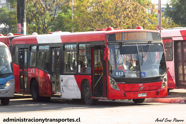 Transantiago B13 | Redbus | Neobus Mega - Volvo B7R LE / CJJH76