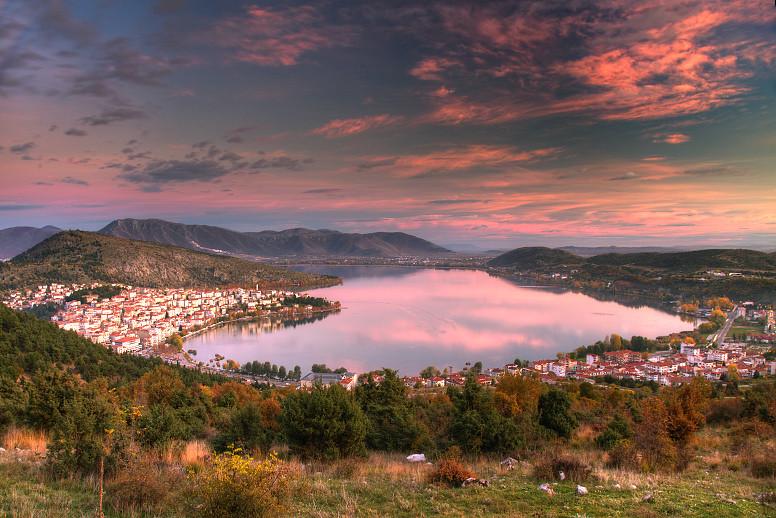 Kastoria Sunset