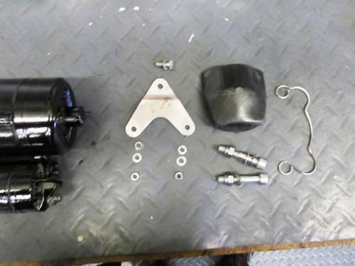 Starter Motor Mounting Hardware