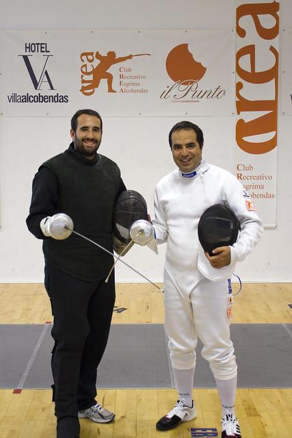 Con Adrián del Crea