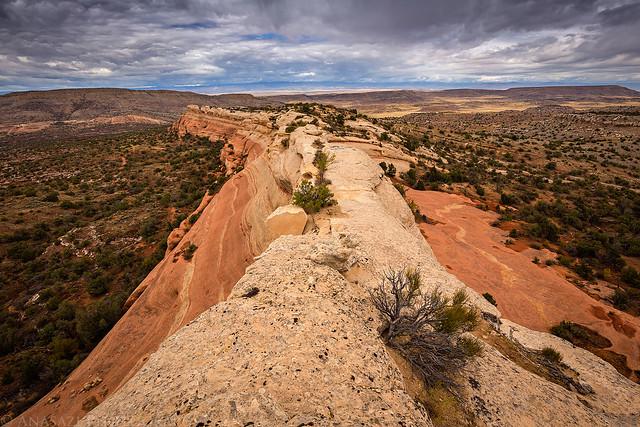 Narrow Sandstone Ridge
