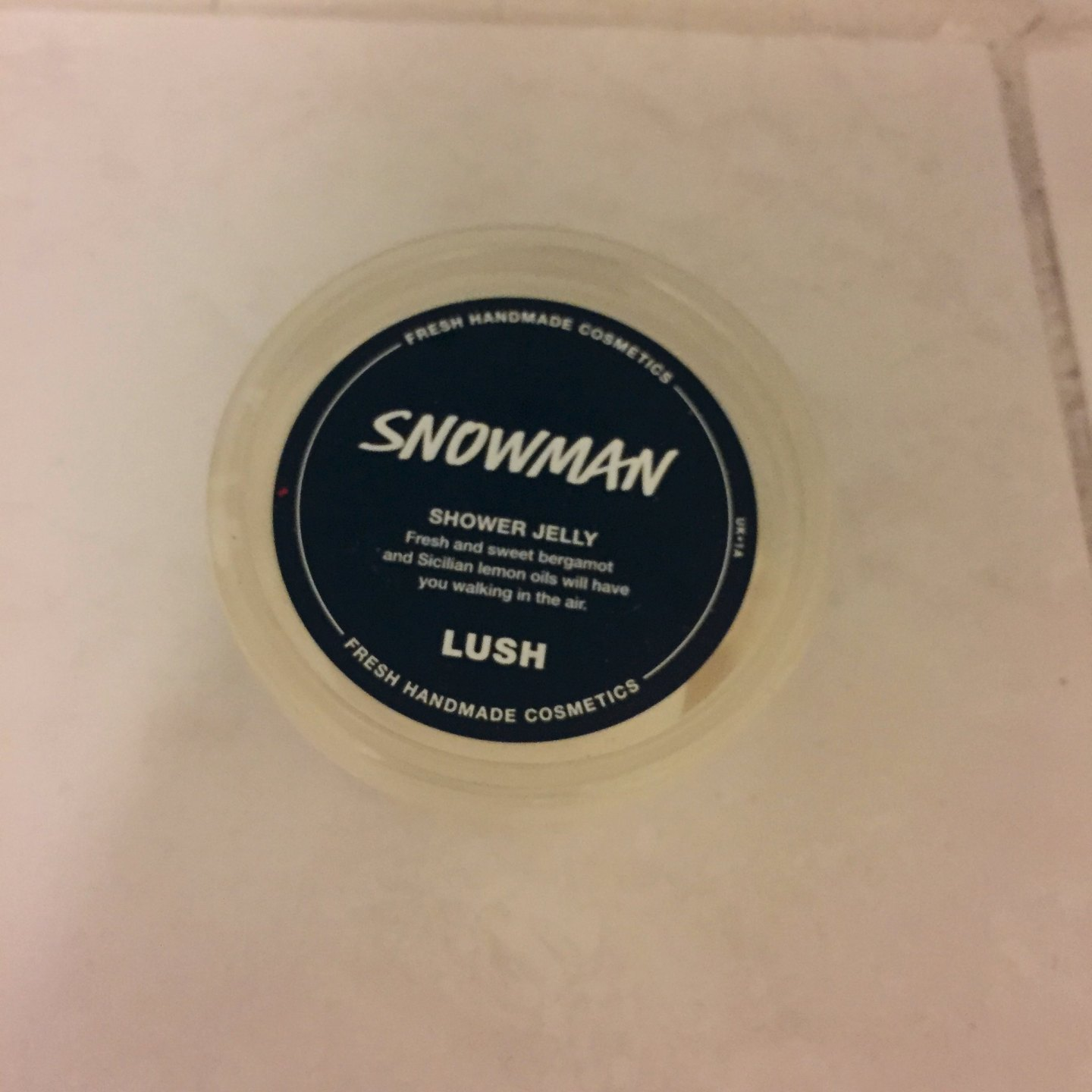 Lush Snowman Shower Jelly Review