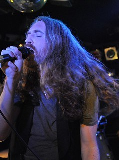 Cormac Neeson of The Answer live at the Diamond Rock Club, December 2015
