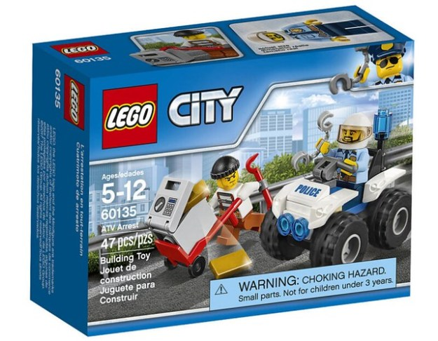 60136 police starter set 80 pieces lego city 2017
