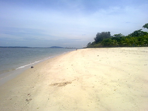 Playas de Singapur: Changi Beach Park.