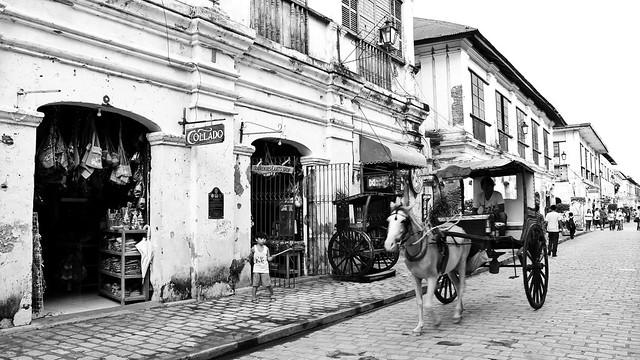 Calesa along Calle Crisologo