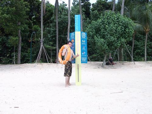 Playas de Singapur: Isla Sentosa.
