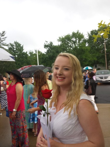 My Rain Soaked Niece Graduates From High School