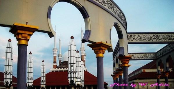 Masjid Agung Jawa Tengah, Semarang, Central Java