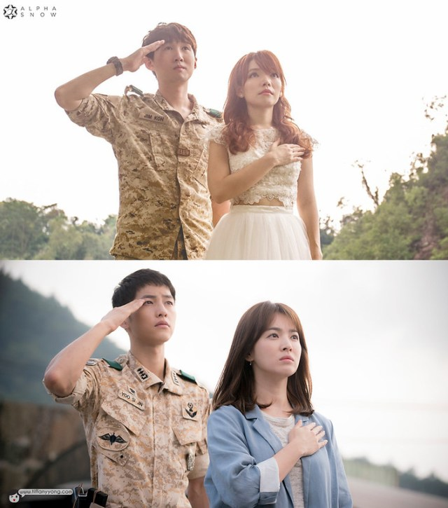 Descendants of the Sun Bridal Ep3 Salute Jim Koh Jin Ming