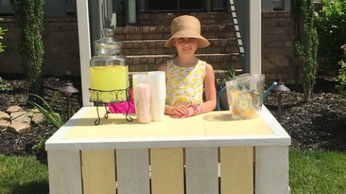Nextdoor Lemonade Stand Photos