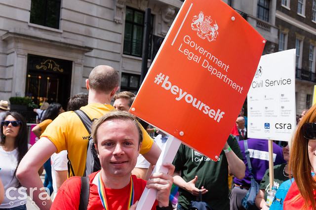 Civil Service at Pride 2016