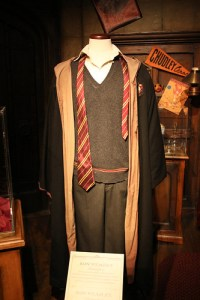 Costume at Harry Potter: The Exhibition