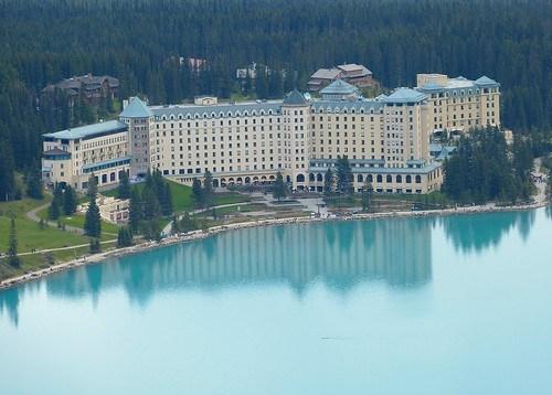 Lake Louise Fairmont hotel