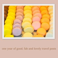 One year of good, fab and lovely posts : tips 'n trips