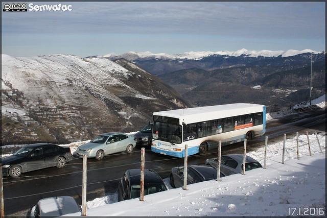 Renault Citybus (Heuliez Bus GX317) - Altiservice / Saint-Lary-Soulan, ex RATP (Paris) n°1032