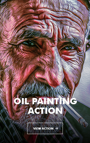 Mix Oil Painting Photoshop Action - 95