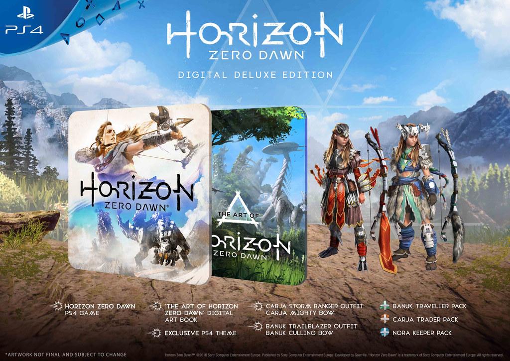 E3 2016: Horizon Zero Dawn Gameplay; Special Editions Detailed 2