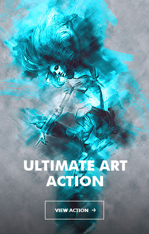 Ink Spray Photoshop Action V.1 - 30