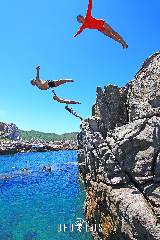 【臺北龍洞】浮潛秘境,跳水跳海,水肺潛水,自由潛水的聖地! | Ofucos 歐夫寇斯