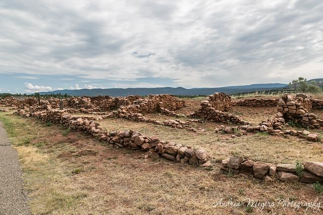 Ruins of Ciquique Pueblo - Andrea Meyers