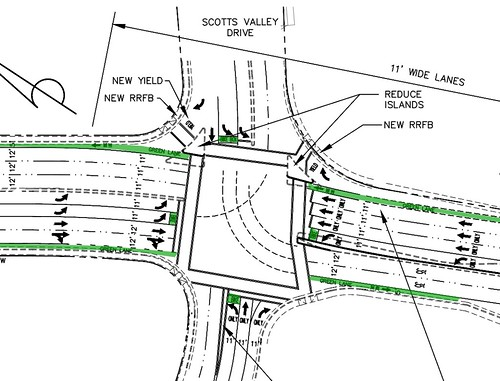 "Scotts Valley: Mt Hermon / Scotts Valley Drive / Whispering Pines ""Operational Improvement"" plan"