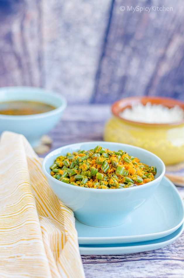 Blogging Marathon, Green Beans, Lentils, Usili, Paruppu Usili, Parippu Usili, Green Beans Paruppu Usili, South Indian Food, Tamil Food, Tamil Brahmin Food, TamBram Food,