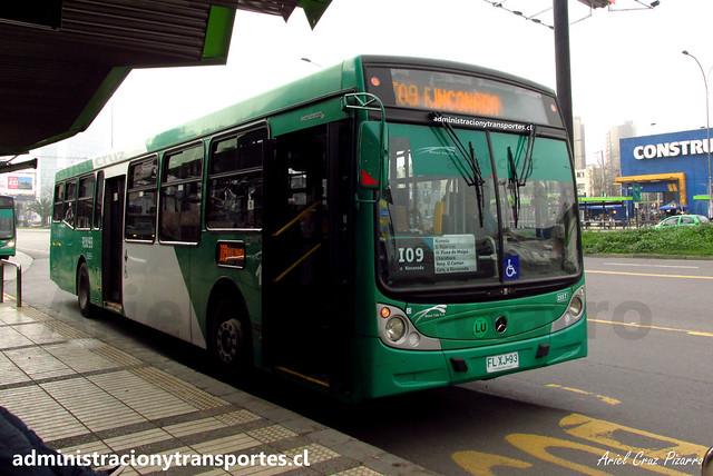 Transantiago   Buses Vule - I09   Caio Mondego H 13.2 - Mercedes Benz / FLXJ93 (Biportal / 4 Puertas)