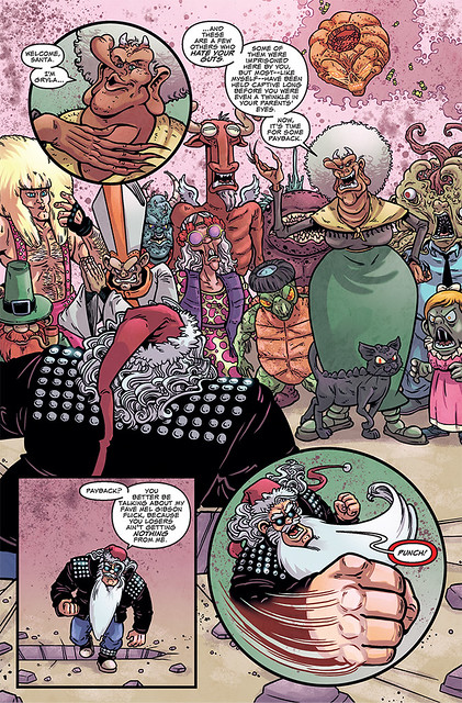 29150253474_5a63868ed1_z ComicList Preview: SLEIGHER THE HEAVY METAL SANTA CLAUS #3