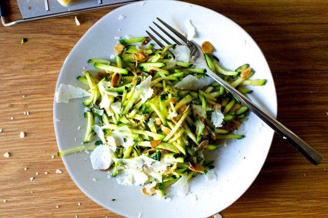 quick zucchini sauté
