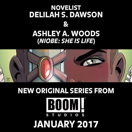 29258480594_1b94bc9280 Delilah S. Dawson and Ashley A. Woods unite on upcoming project