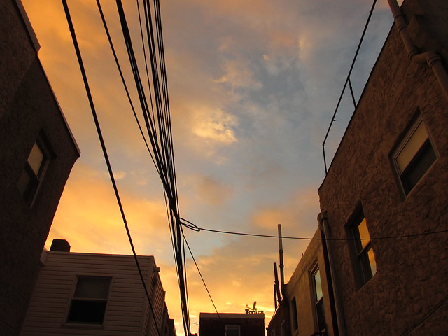 Sun Sets on South Philly