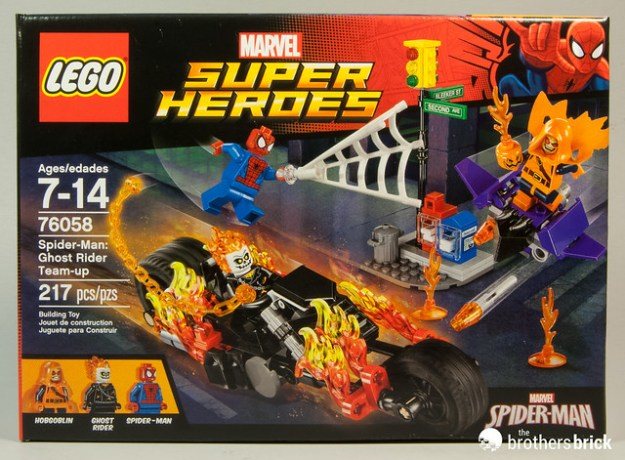 LEGO Marvel Super Heroes 76058 Spider-Man: Ghost Rider Team-up ...