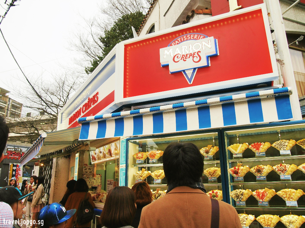 Takeshita Dori - Crepe 1 - travel.joogo.sg