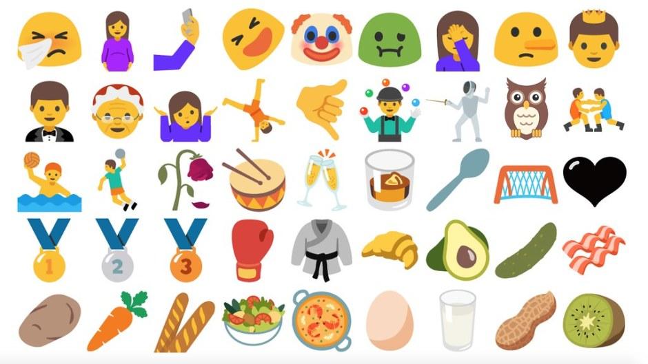 emoji android nougat 4