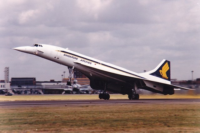 Concorde G-BOAD London Heathrow